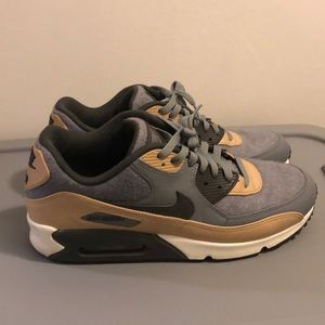 Nike air max 90 wool cool grey mushroom size 11.5